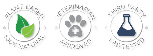 Plant Based, Veterinarian Approved, Third Party Lab Tested