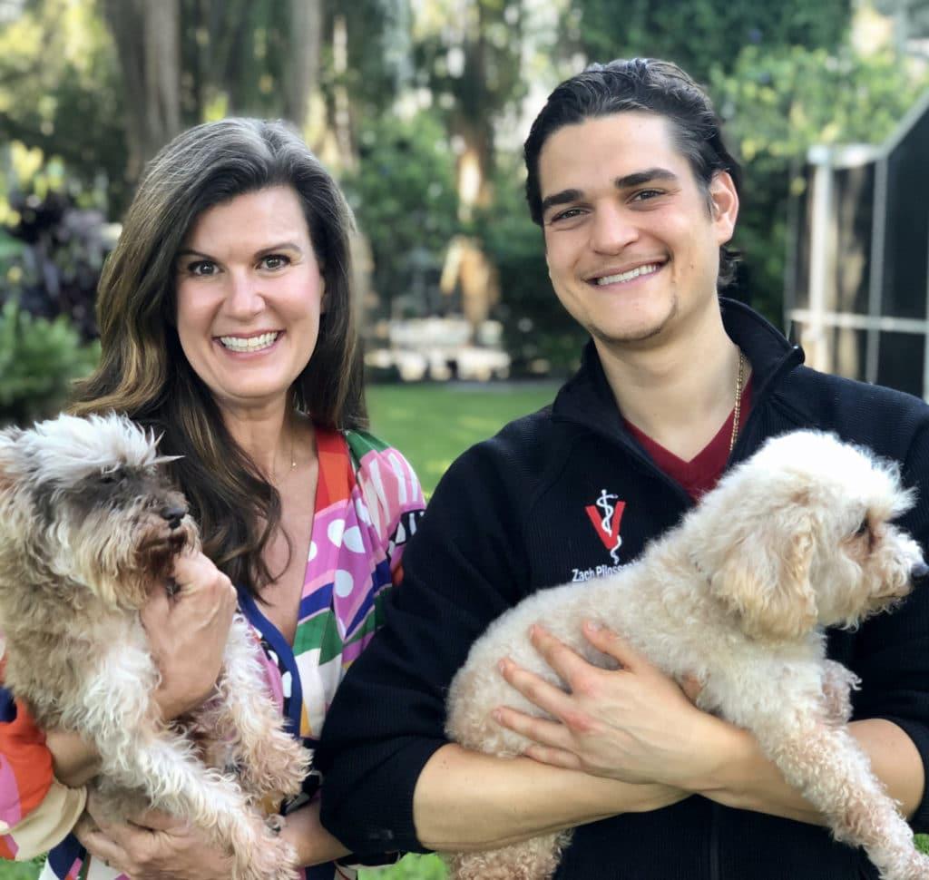 Angela Ardolino and Dr. Zac Pilossoph