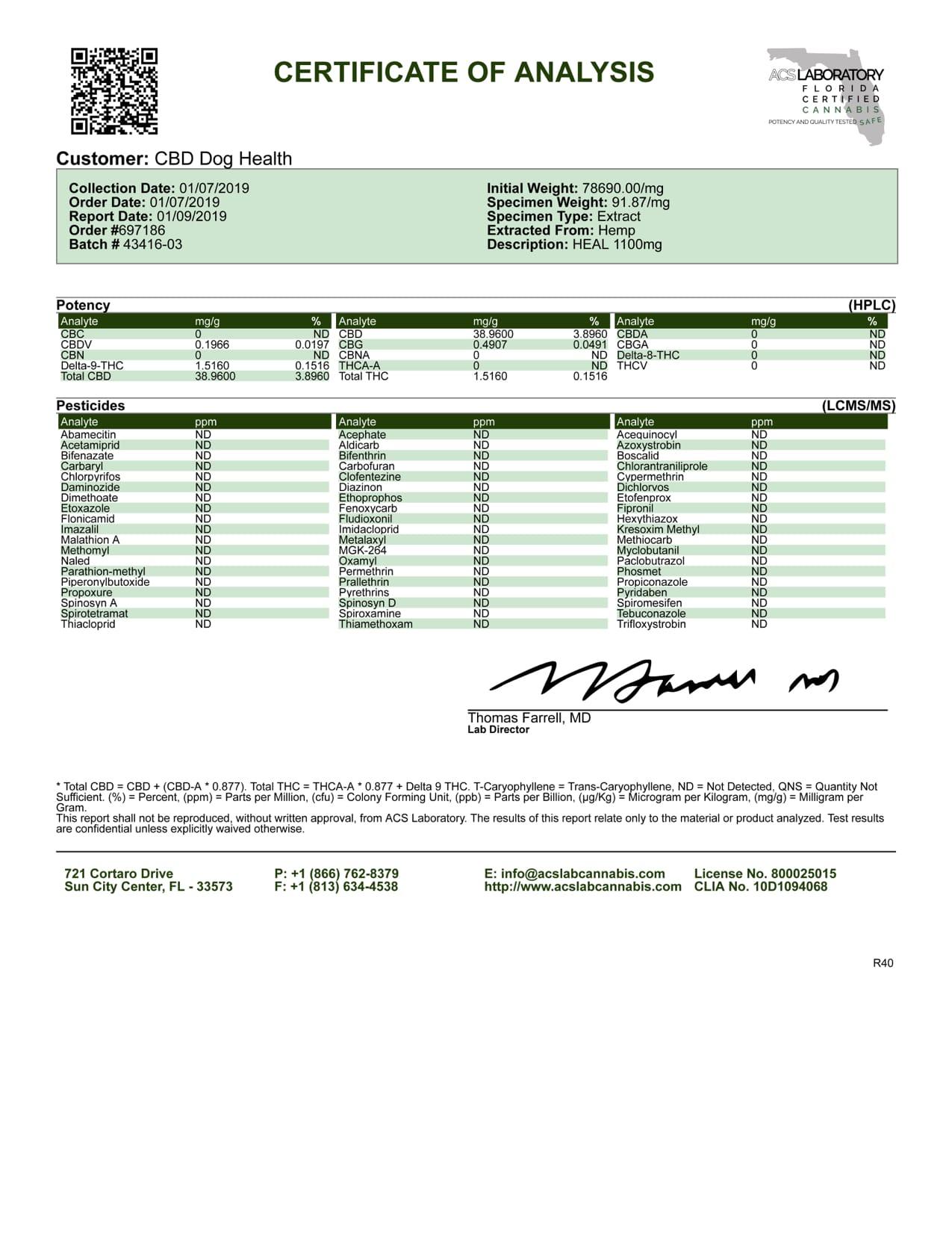HEAL 1100MG 1 09 19 ACSLaboratory Batch43416 03 copy